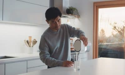 duo carafe being used in a kitchen