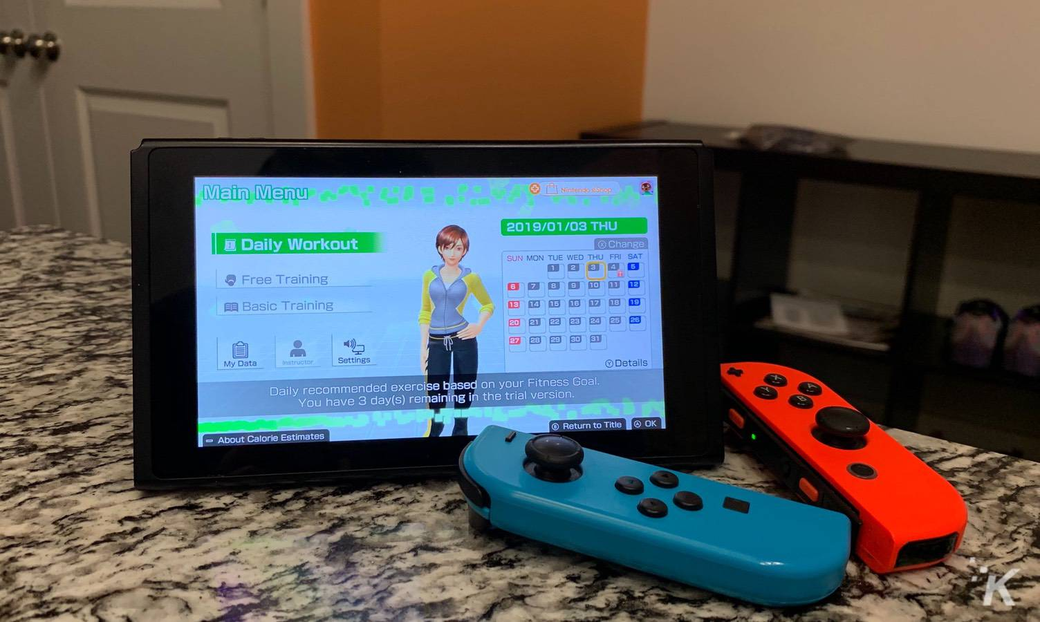 fitness boxing for the nintendo switch