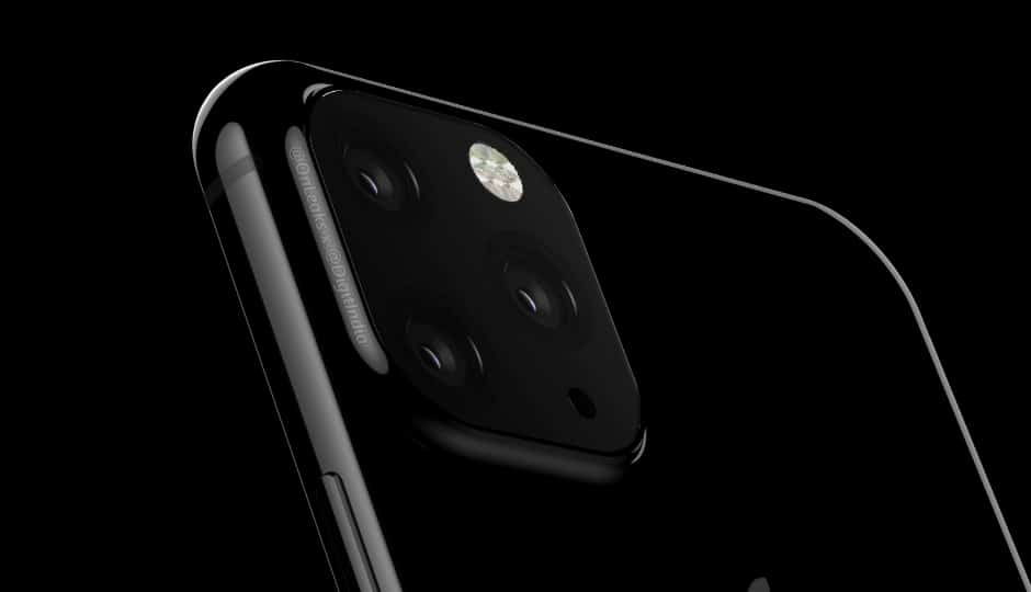 triple camera apple iphone mockup