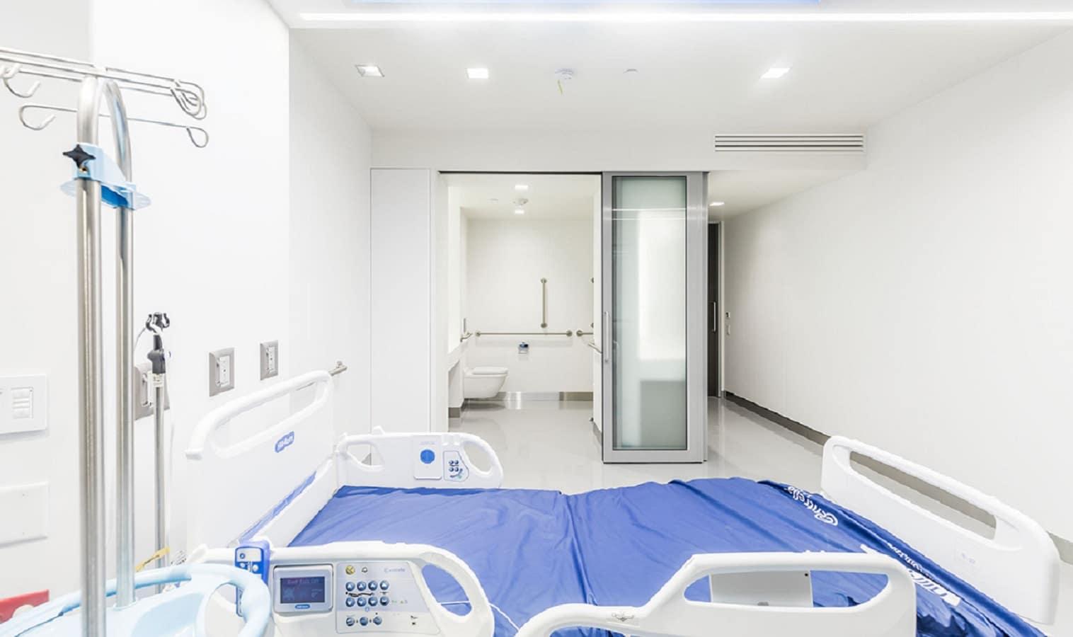eir healthcare medmodular hospital room