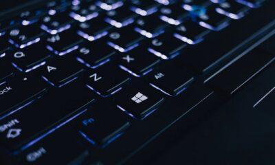 backlit keyboard showing various keys mega breach hack