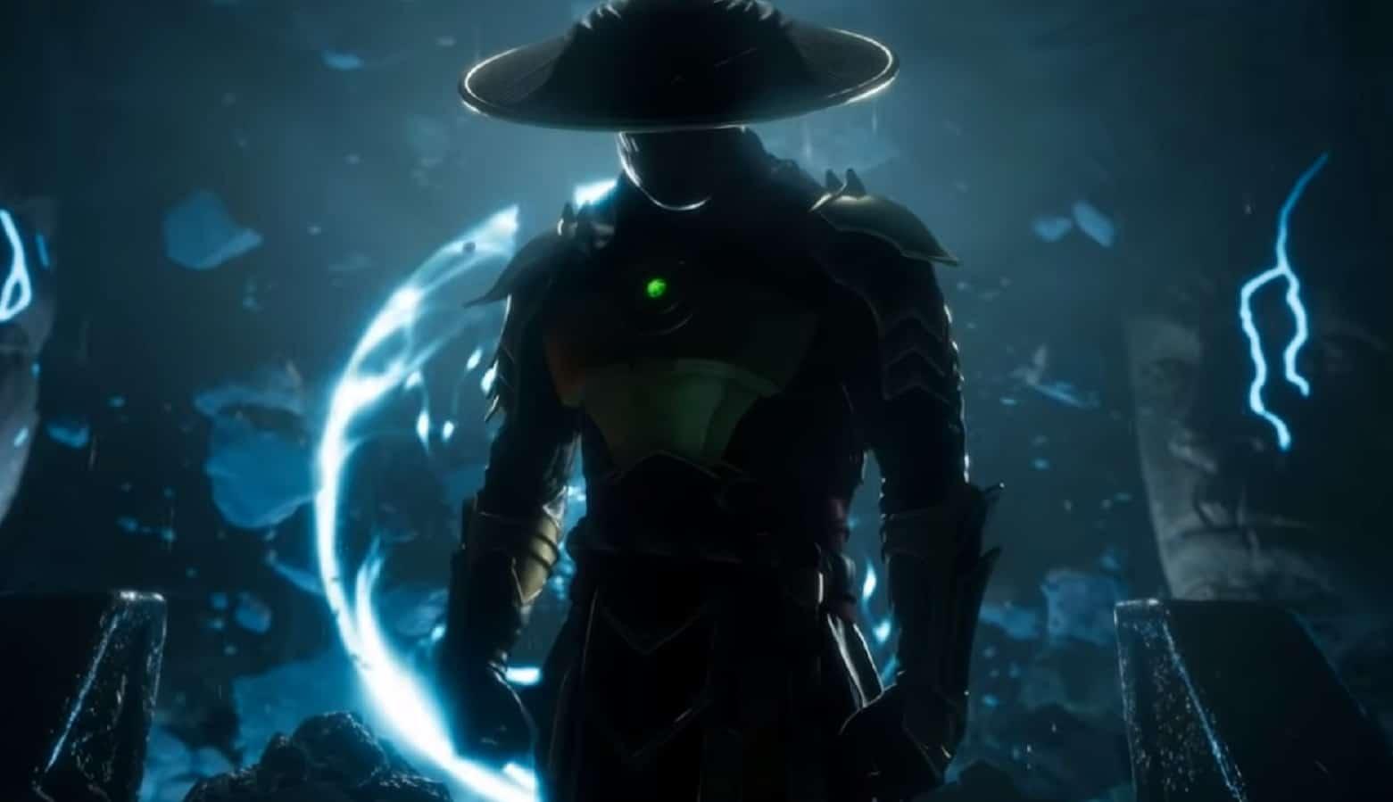 mortal kombat 11 raiden reveal trailer