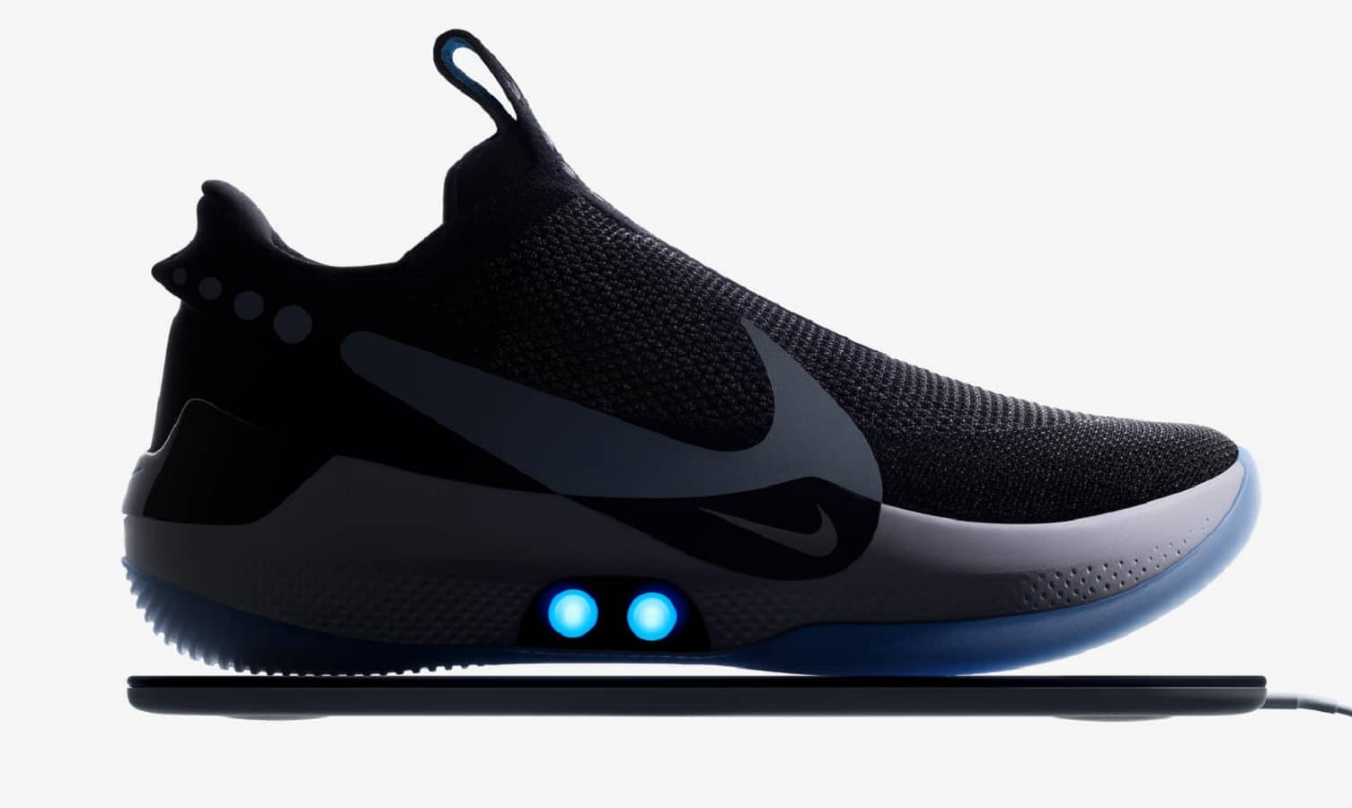 nike adapt bb self-lacing shoe