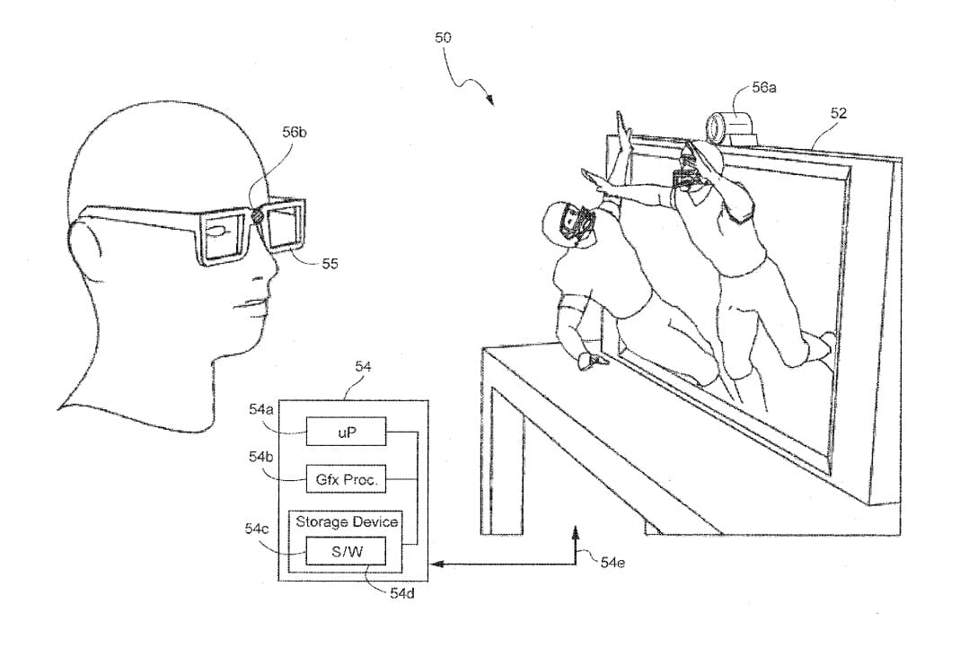 nintendo 3d patent