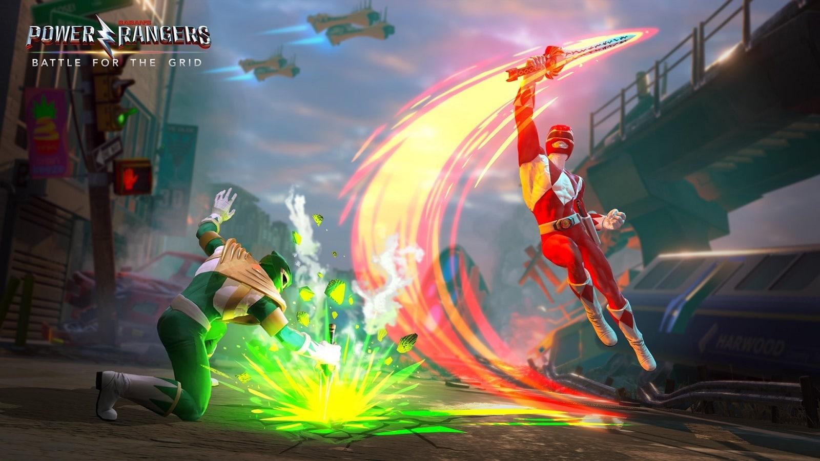 power rangers fighting game