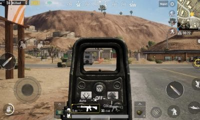 pubgmobile gameplay on android phone