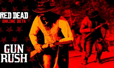red dead online featuring the new gun rush mode
