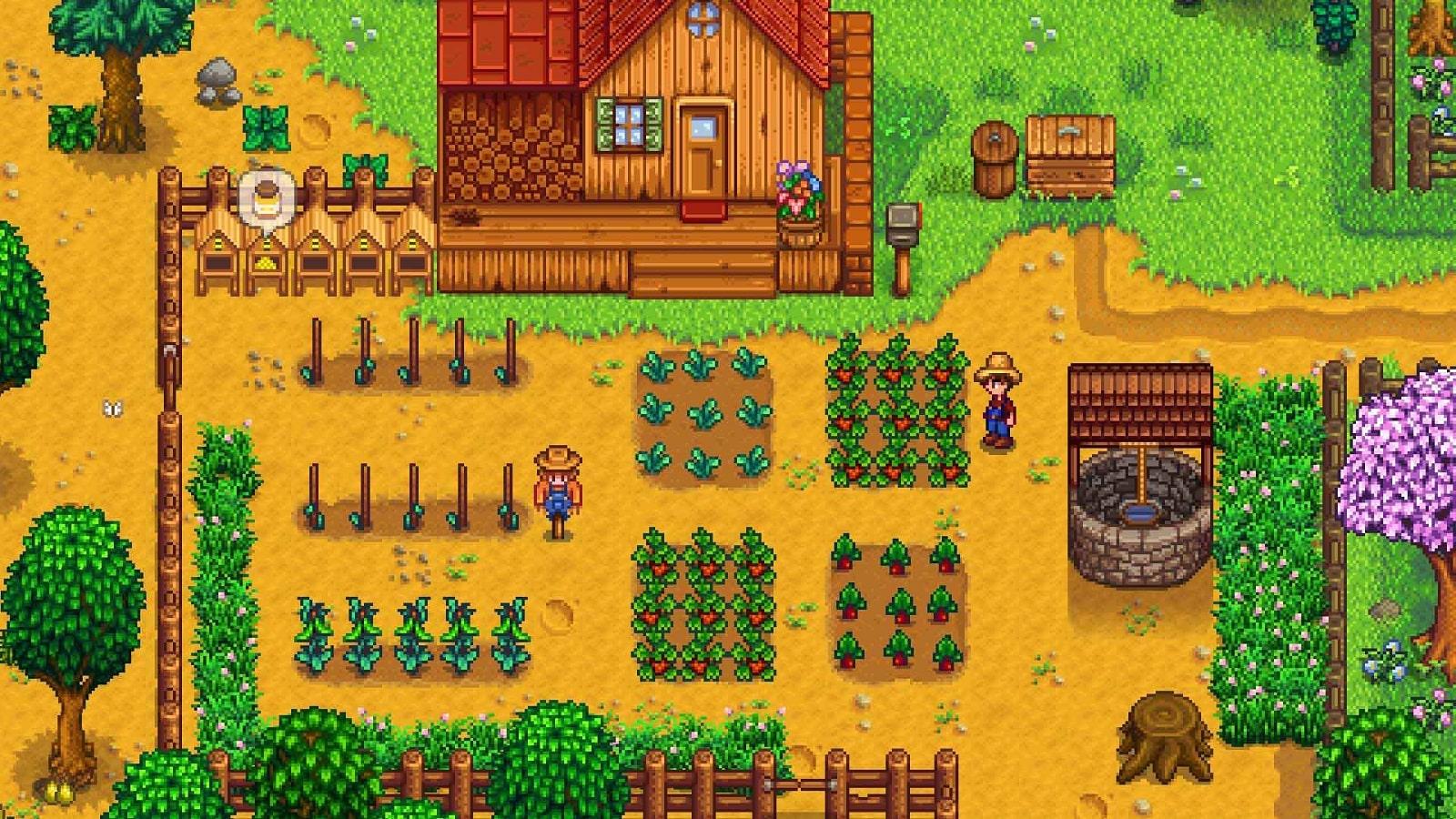 stardew valley farmer