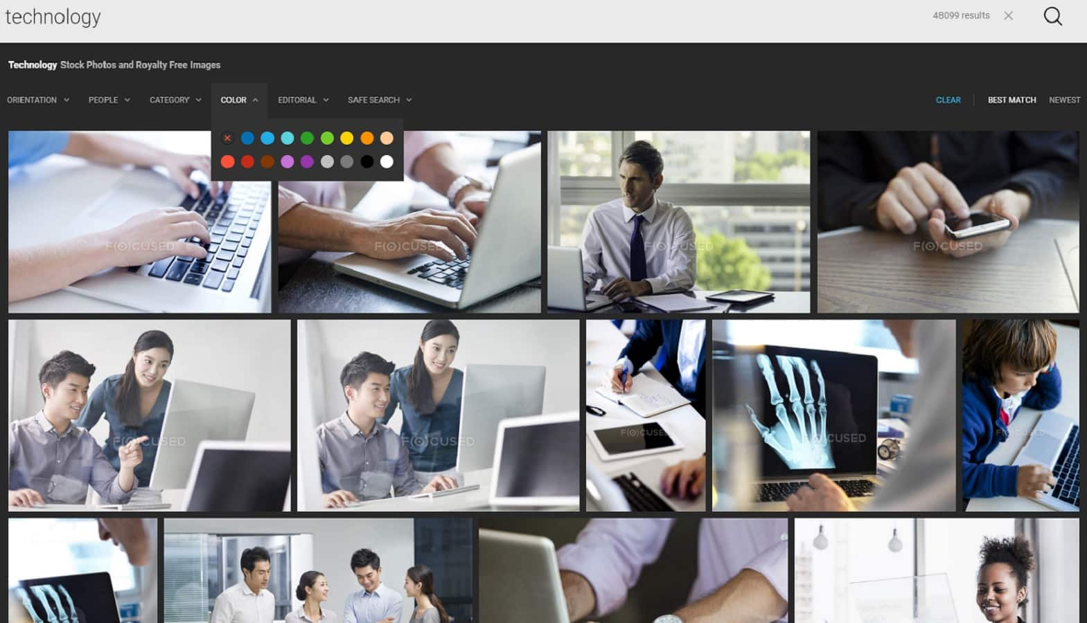 stock photography website depositphotos focused collection