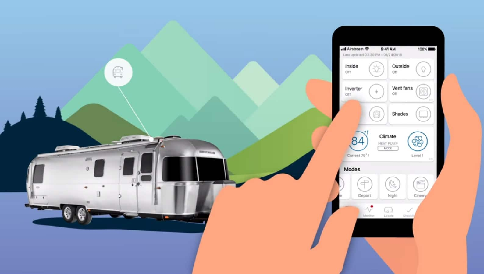airstream smart tech