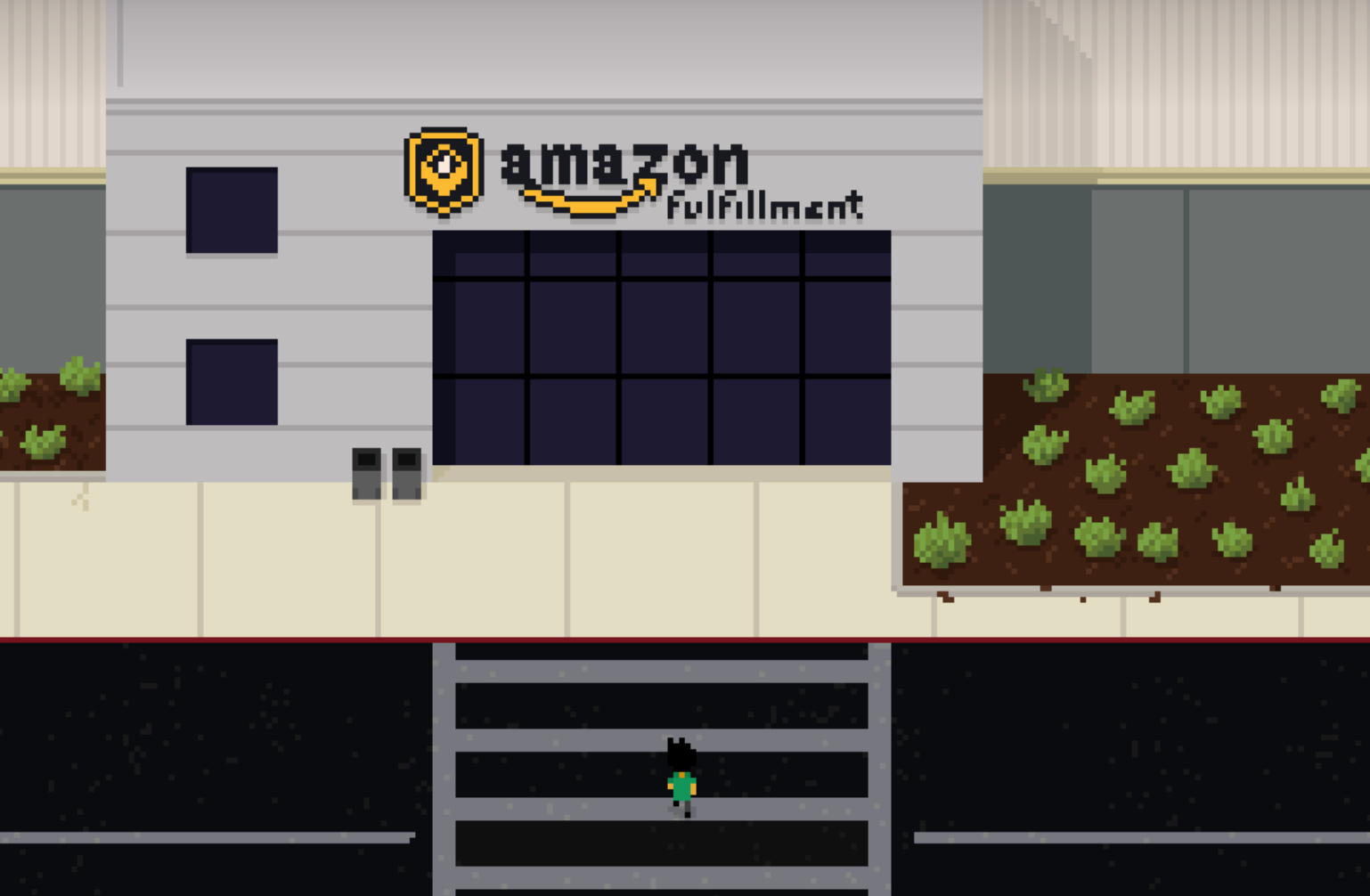 amazon fulfillment worker game