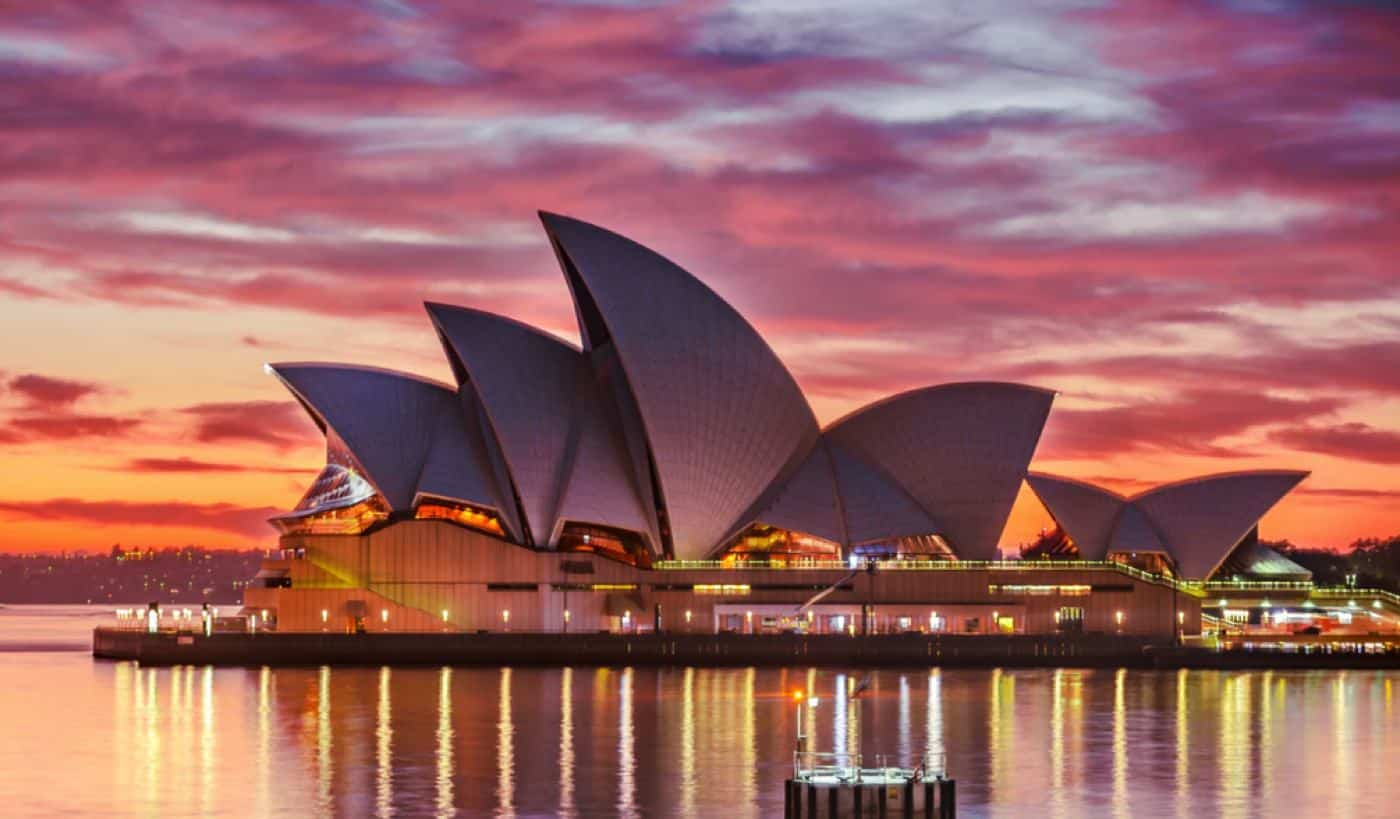 architectural photography of building in australia