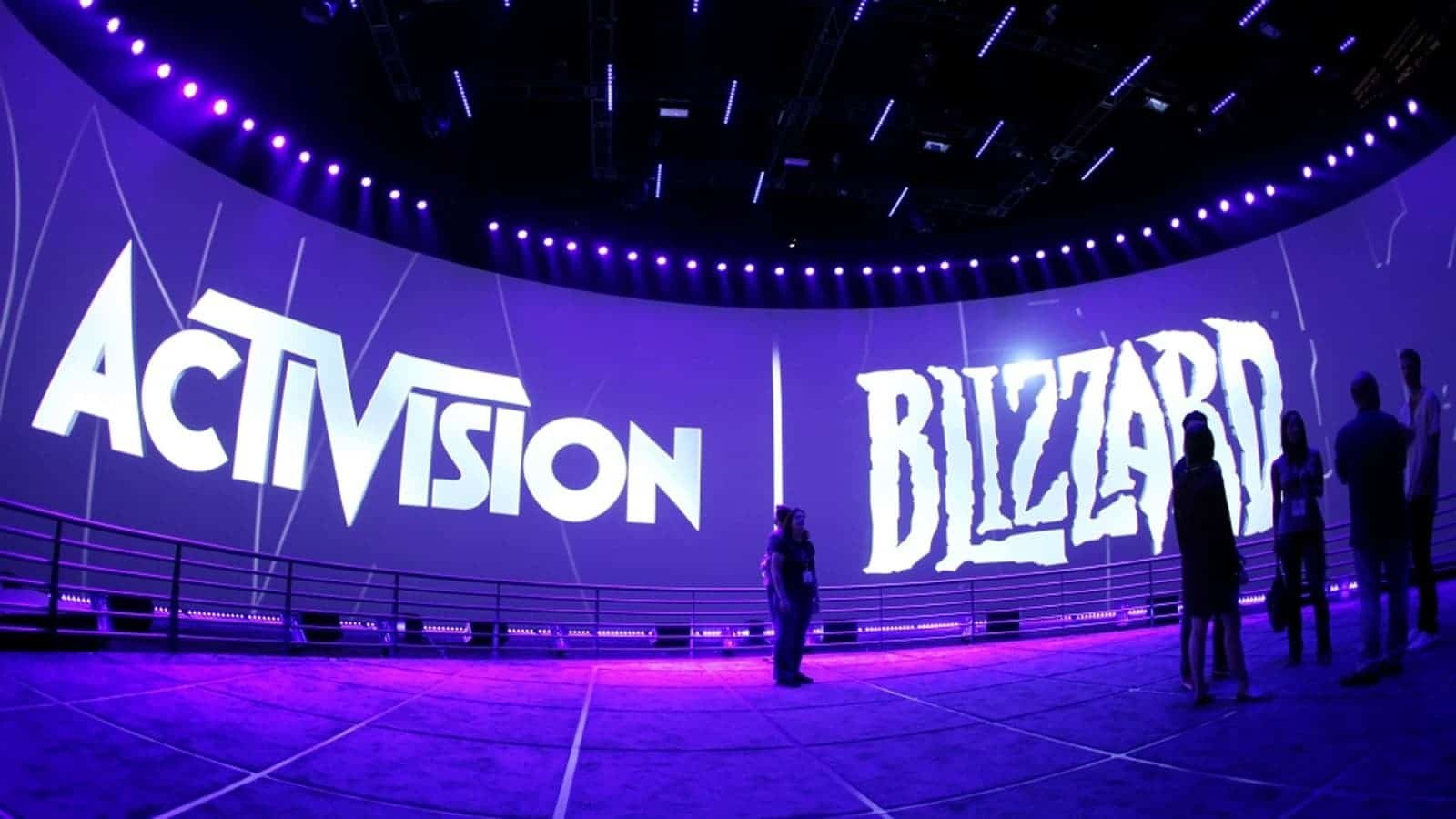 blizzard and activision logos