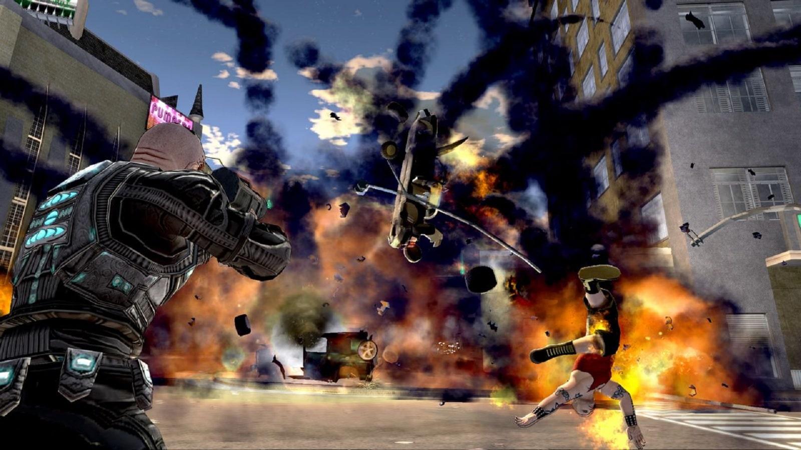 crackdown 1 gameplay