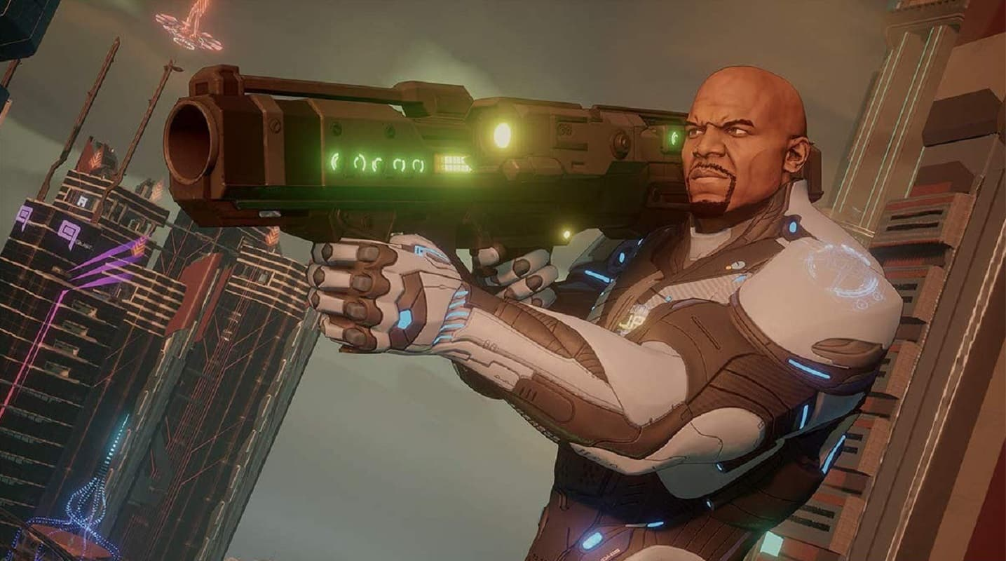crackdown 3 gameplay with terry crews