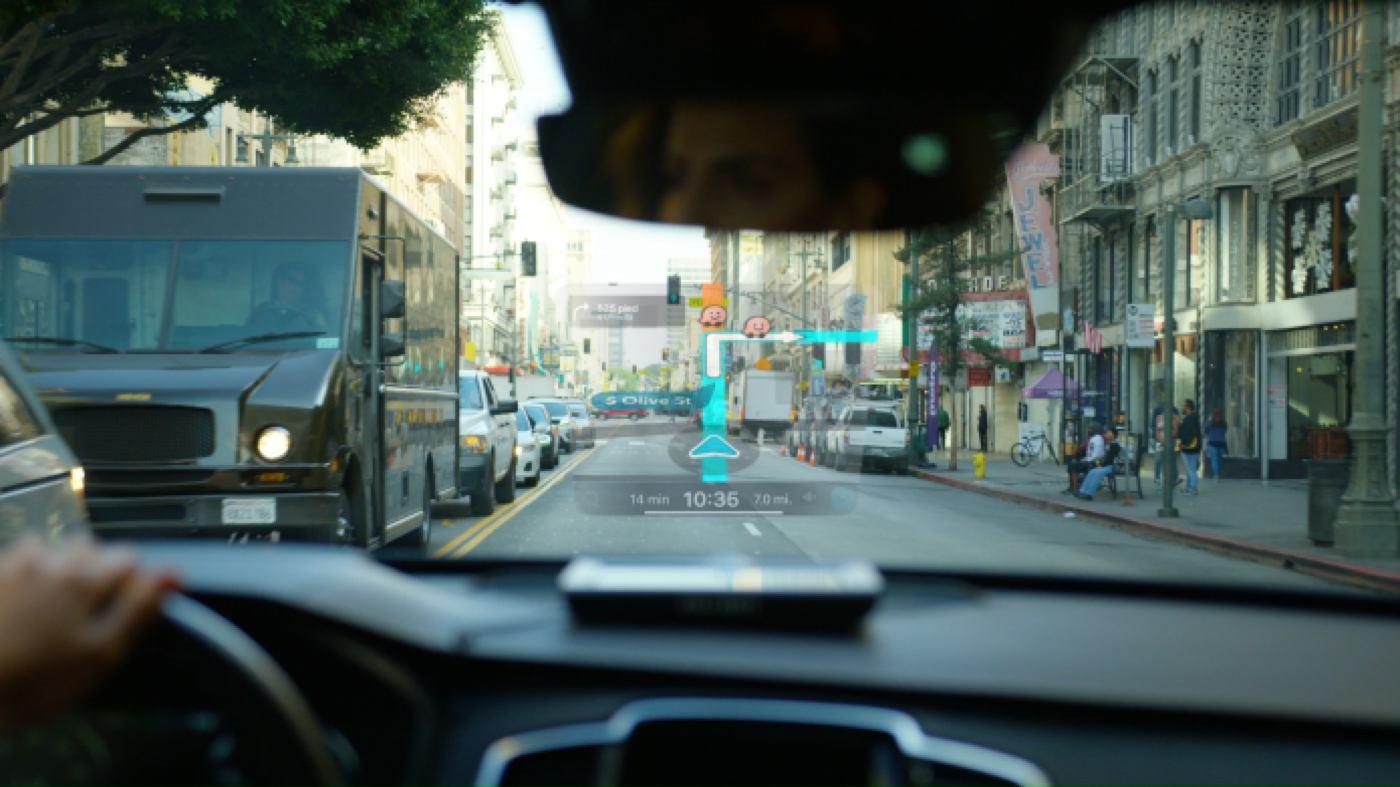 eyedrive holographic car display