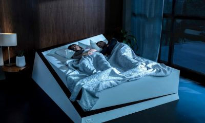ford lane assist bed with two people sleeping on bed