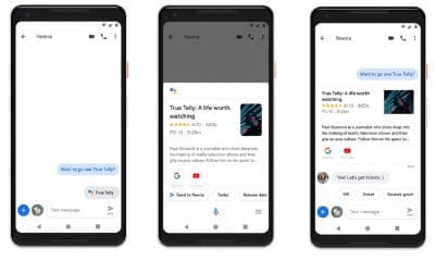 google assistant gains android messaging support