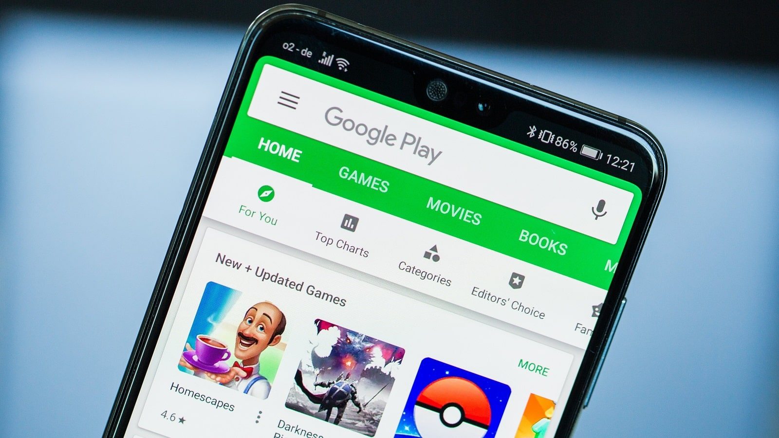 google play on android phone