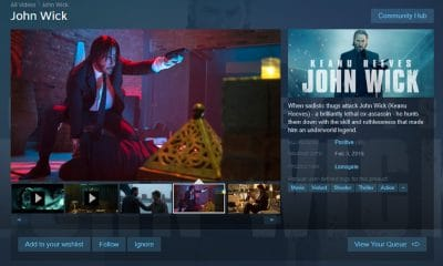 john wick movie on steam platform