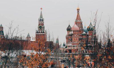 kremlin in russia in snow