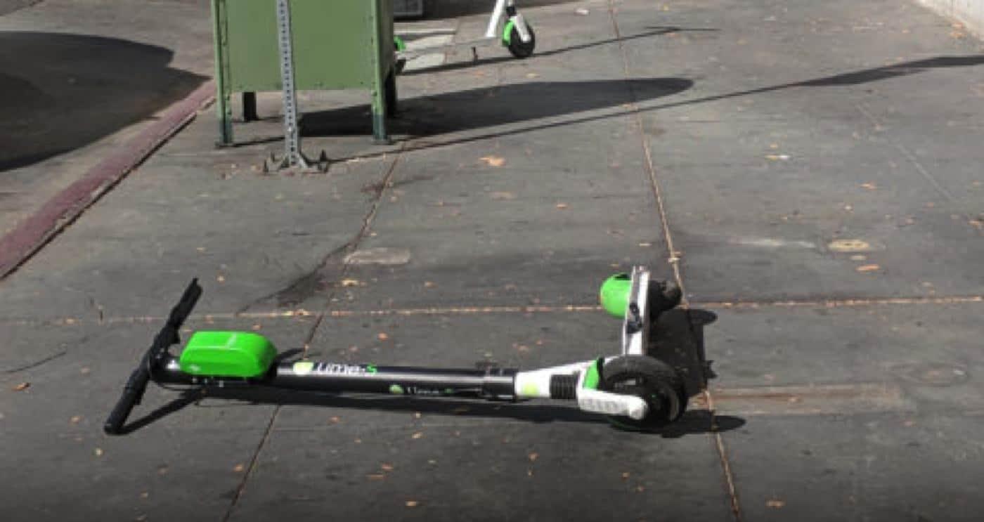 lime scooter crash