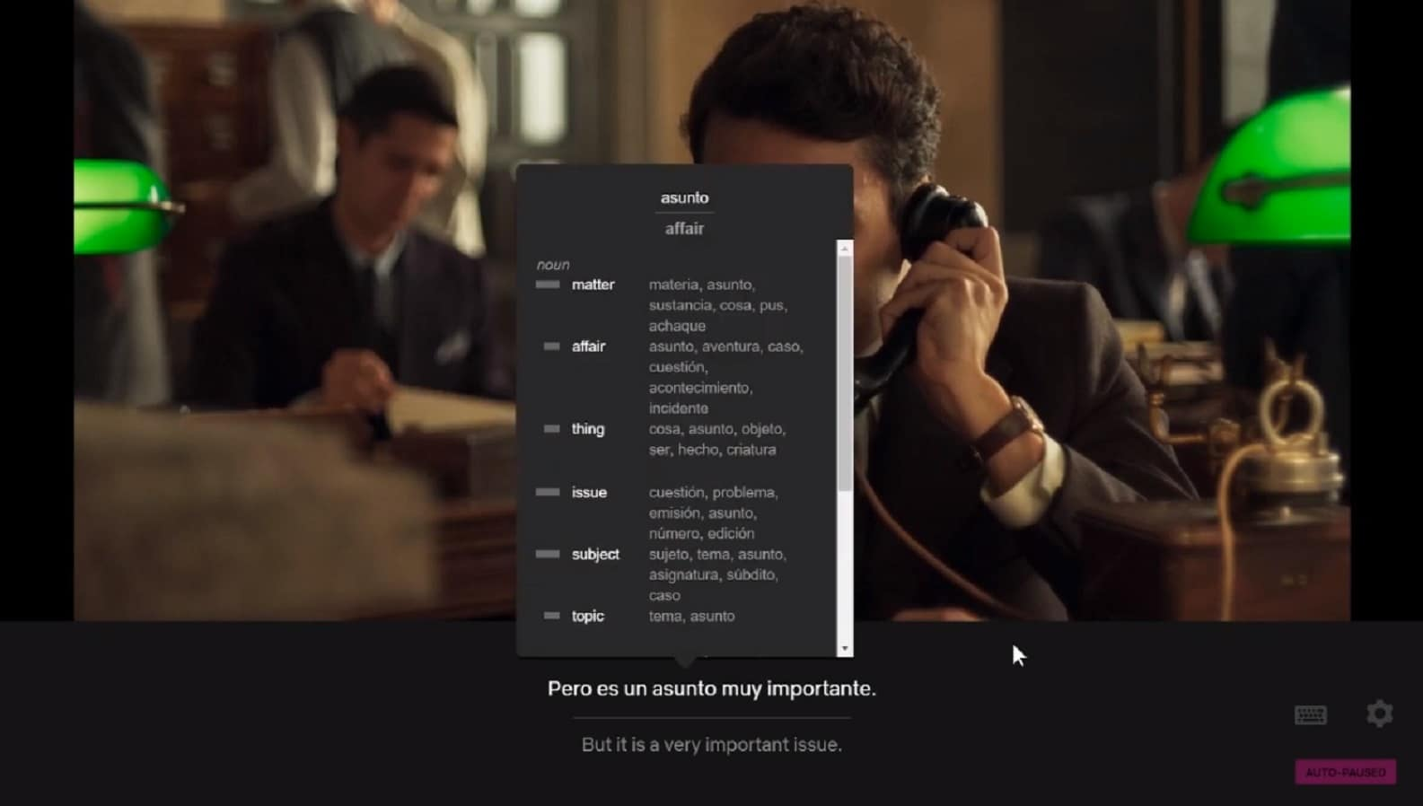 This Chrome extension helps you learn a language while you watch Netflix