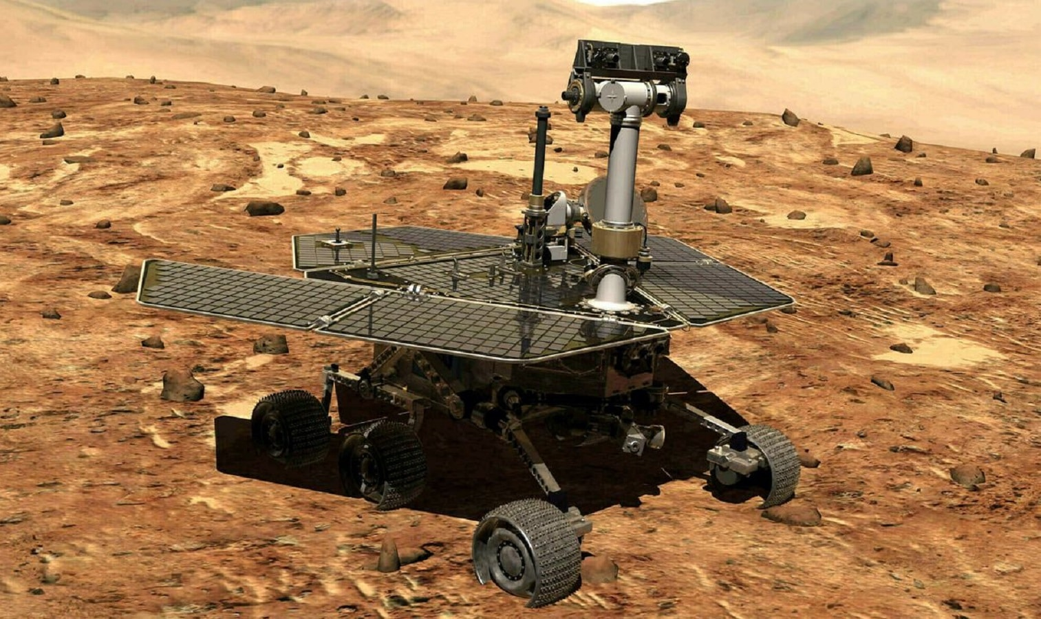 opportunity rover on mars