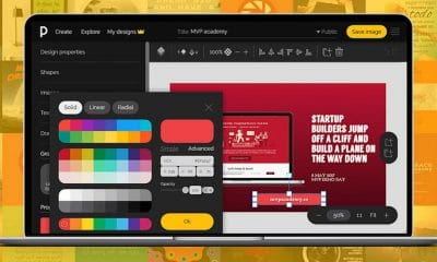 pixteller design photo editing web app