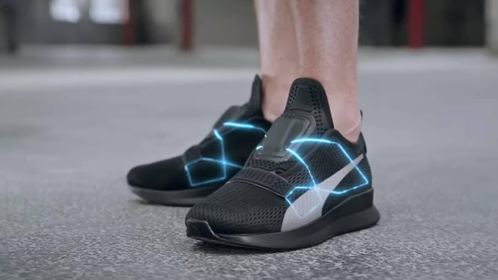 puma self-lacing shoes
