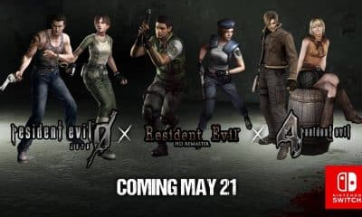 resident evil games release on nintendo switch