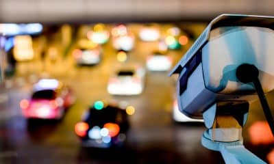 security camera monitoring cars