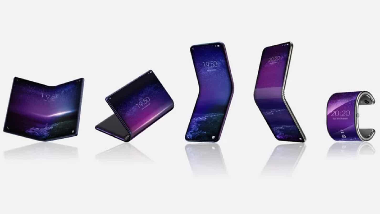 tcl folding phones