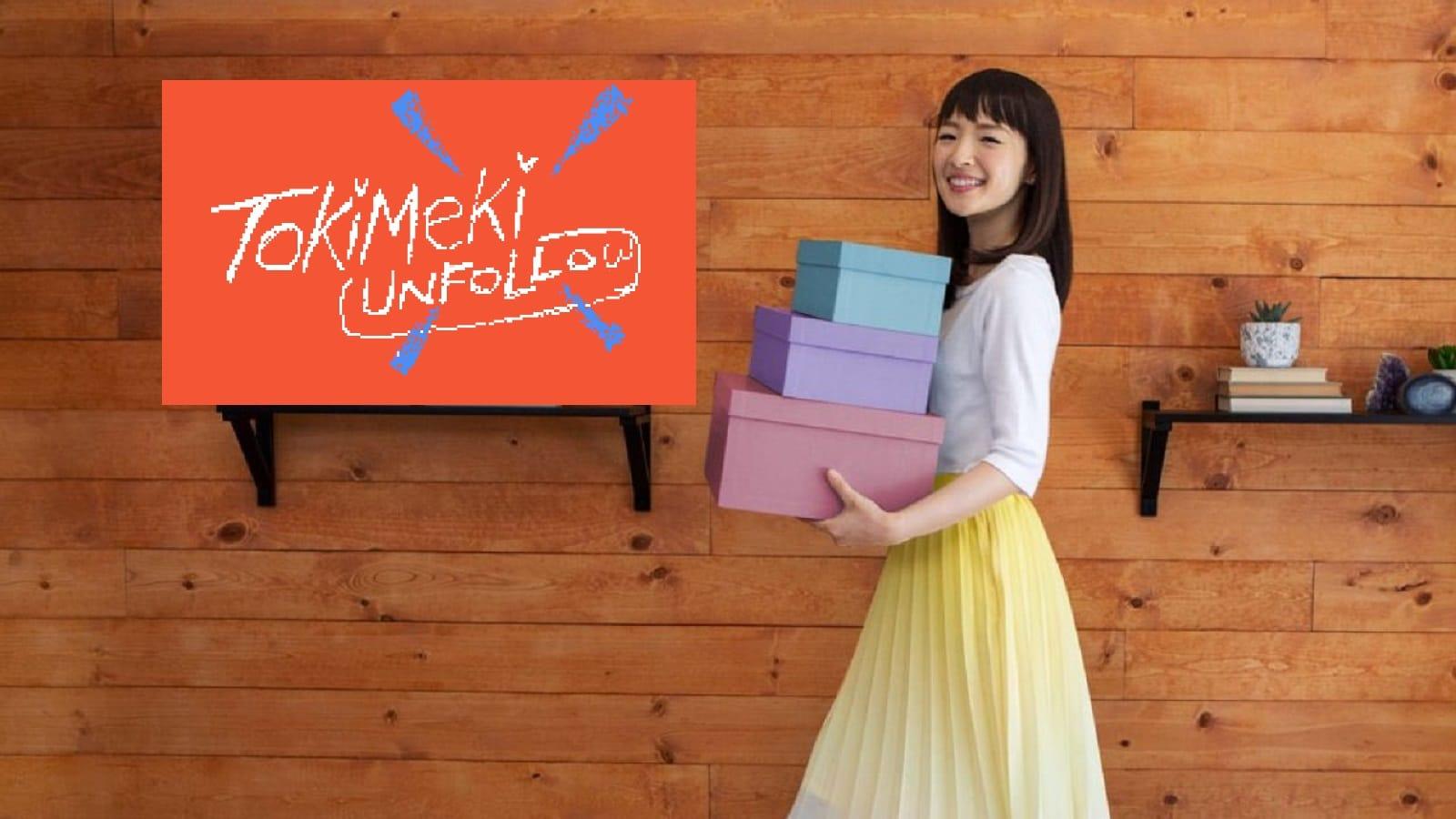twitter unfollow tool featuring marie kondo