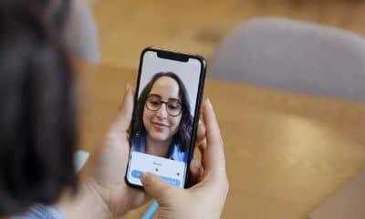warby parker ar glasses on ios app