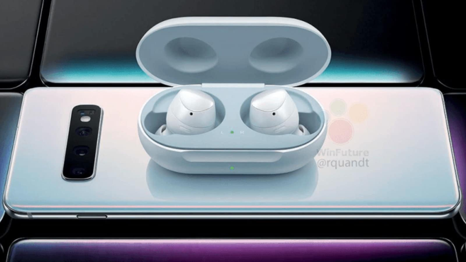 samsung earbuds wireless charging