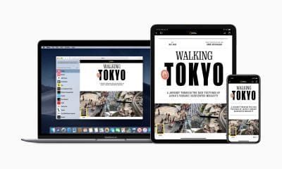 apple news plus being shown on multiple devices