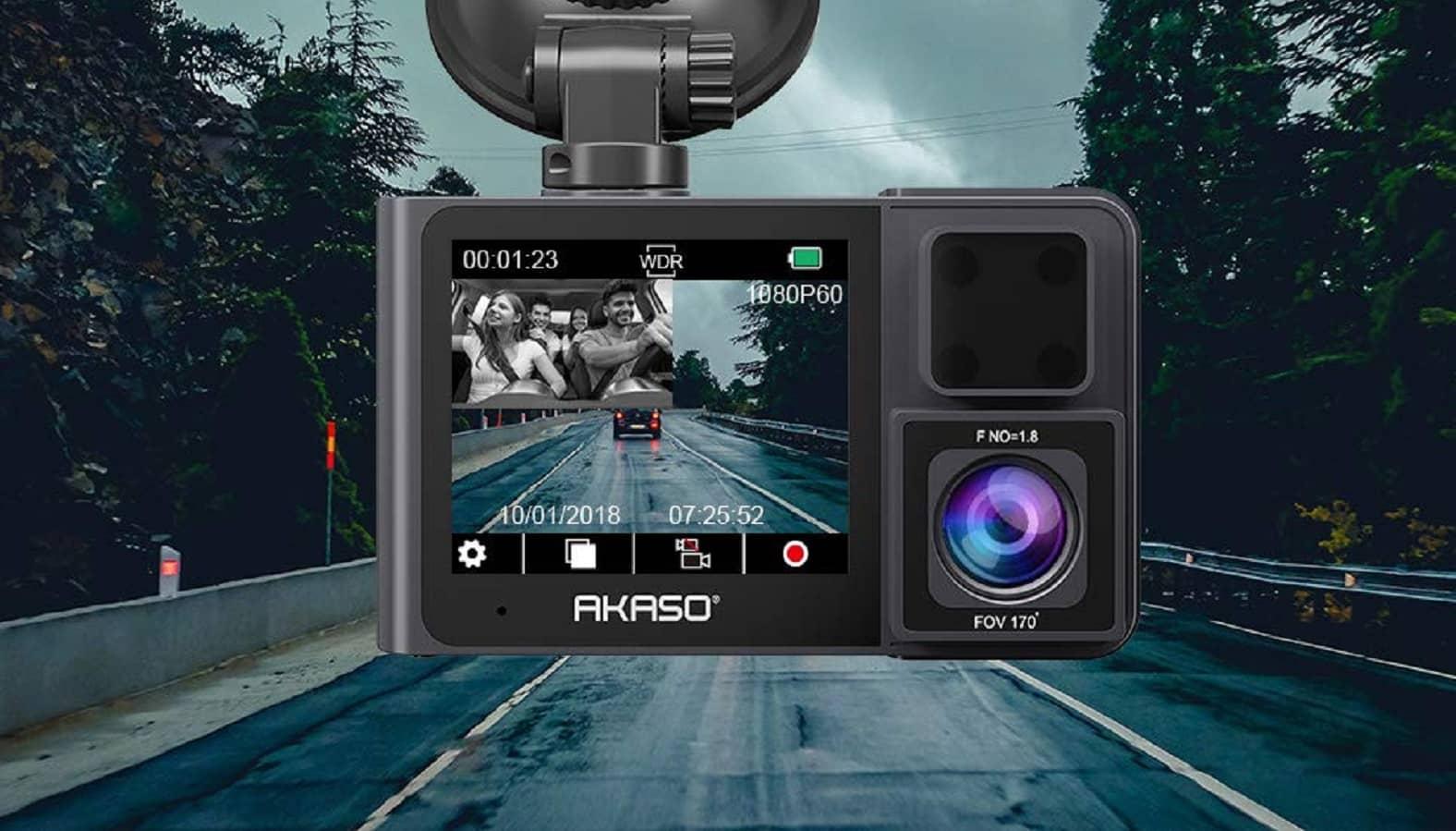 akaso trace 1 dashcam