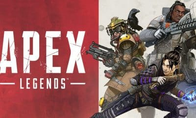 apex legends logo and characters