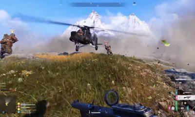 battlefield v's firestorm battle royale mode in action
