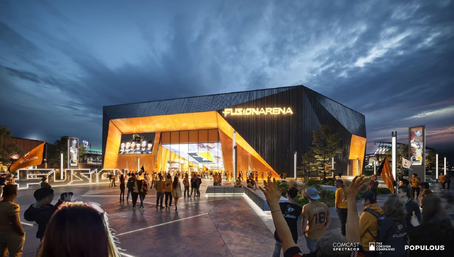 comcast fusion arena mockup in philadelphia