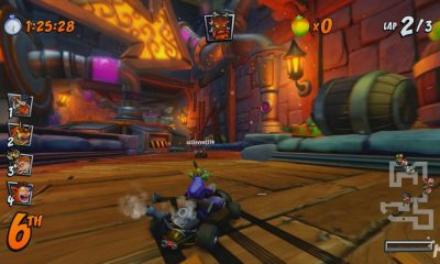 crash team racing demo at Pax east 2019