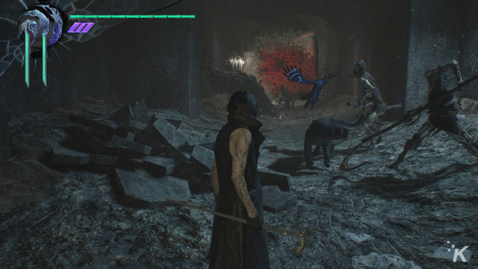 devil may cry 5 review screenshot