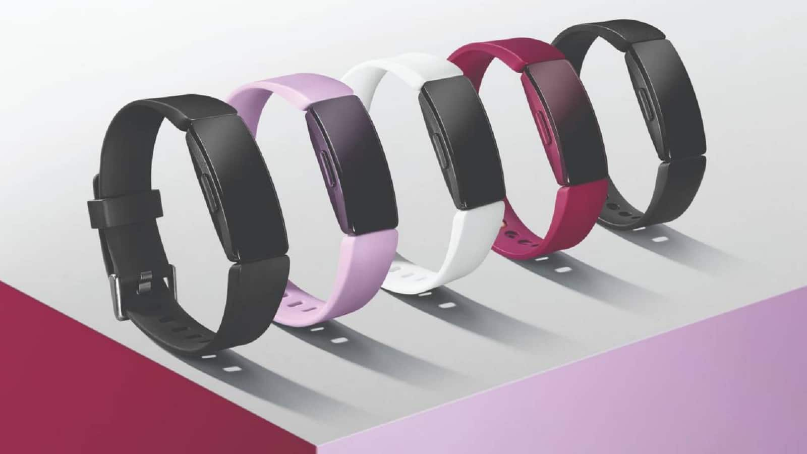 fitbit inspire smart watch in various colors