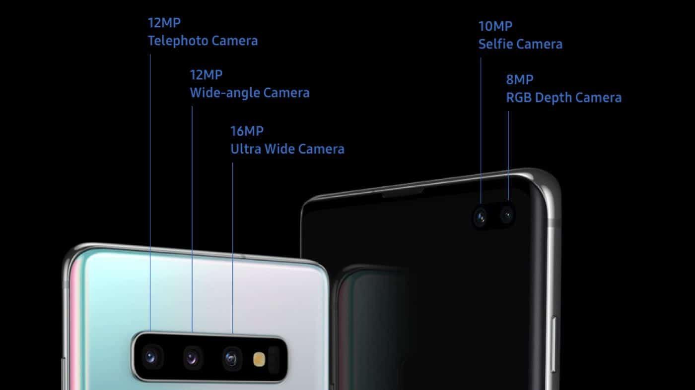 galaxy s10 camera specs