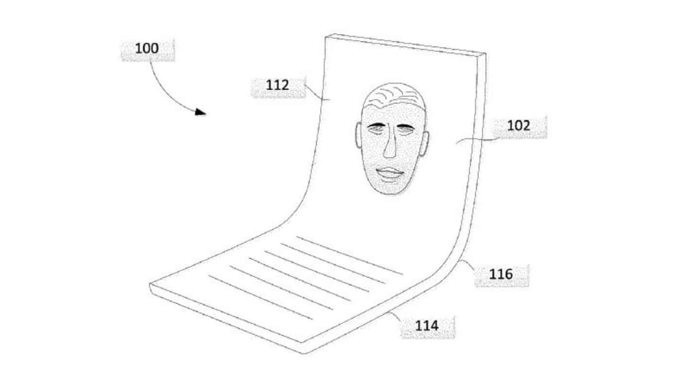 google folding phone patent