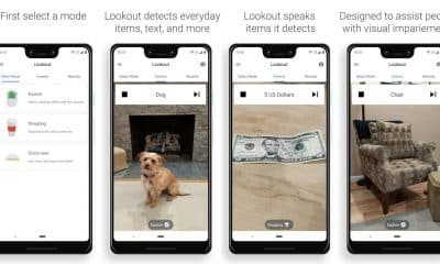 google lookout uses ar to identify all sorts of things