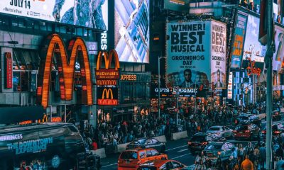 mcdonalds sign in new york city
