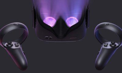 oculus quest being shown