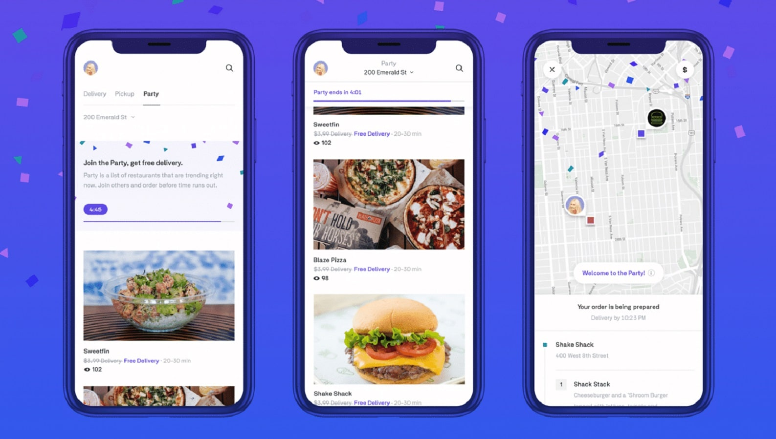 postmates starts party delivery service